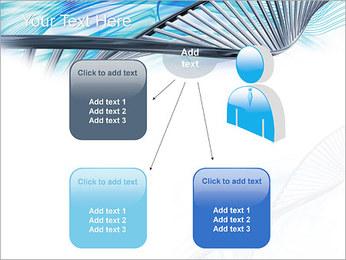 ADN lumière Modèles des présentations  PowerPoint - Diapositives 12