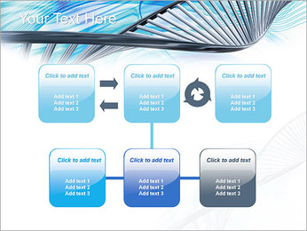 ADN lumière Modèles des présentations  PowerPoint - Diapositives 23