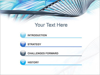 ADN lumière Modèles des présentations  PowerPoint - Diapositives 3