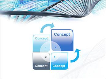 ADN lumière Modèles des présentations  PowerPoint - Diapositives 5