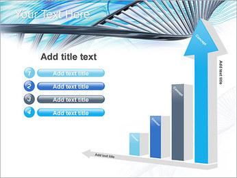 ADN lumière Modèles des présentations  PowerPoint - Diapositives 6