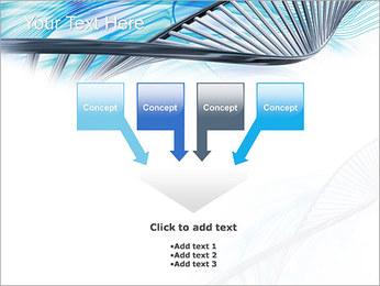 ADN lumière Modèles des présentations  PowerPoint - Diapositives 8