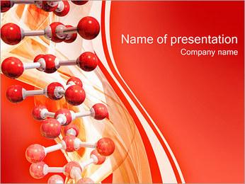 Molécules Modèles des présentations  PowerPoint - Diapositives 1