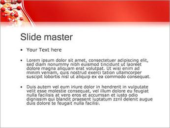 Molécules Modèles des présentations  PowerPoint - Diapositives 2