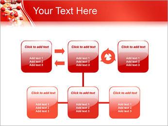 Molécules Modèles des présentations  PowerPoint - Diapositives 23