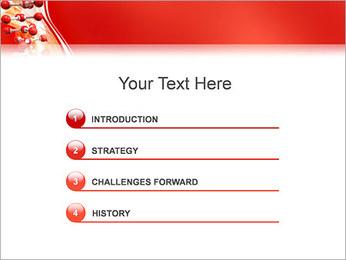 Molécules Modèles des présentations  PowerPoint - Diapositives 3