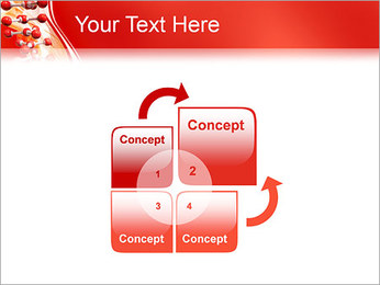 Molécules Modèles des présentations  PowerPoint - Diapositives 5