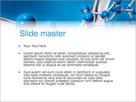 Molécule Modèles des présentations  PowerPoint
