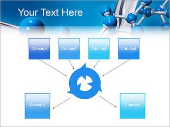 Molécule Modèles des présentations  PowerPoint - Diapositives 10