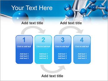 Molécule Modèles des présentations  PowerPoint - Diapositives 11