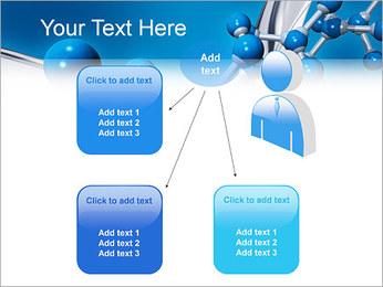 Molécule Modèles des présentations  PowerPoint - Diapositives 12