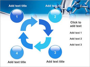Molécule Modèles des présentations  PowerPoint - Diapositives 14