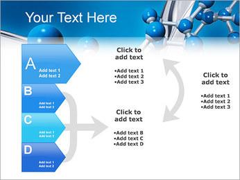 Molécule Modèles des présentations  PowerPoint - Diapositives 16