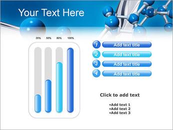 Molécule Modèles des présentations  PowerPoint - Diapositives 18