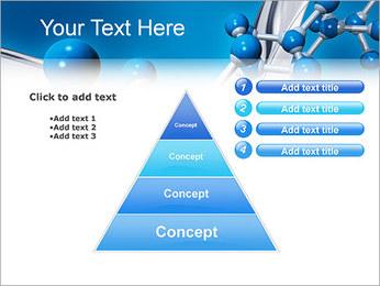 Molécule Modèles des présentations  PowerPoint - Diapositives 22