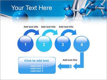 Molécule Modèles des présentations  PowerPoint - Diapositives 4