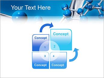 Molécule Modèles des présentations  PowerPoint - Diapositives 5