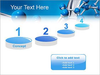 Molécule Modèles des présentations  PowerPoint - Diapositives 7