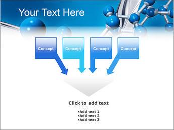 Molécule Modèles des présentations  PowerPoint - Diapositives 8