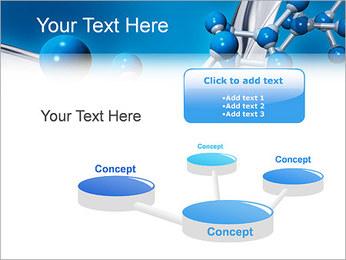 Molécule Modèles des présentations  PowerPoint - Diapositives 9