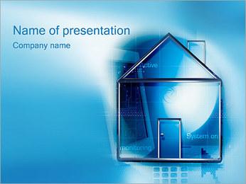 モニタリング PowerPointプレゼンテーションのテンプレート