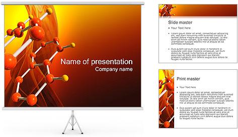 Molécule de benzène Modèles des présentations  PowerPoint