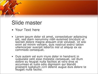 Molécule de benzène Modèles des présentations  PowerPoint - Diapositives 2