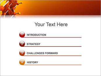 Molécule de benzène Modèles des présentations  PowerPoint - Diapositives 3