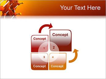 Molécule de benzène Modèles des présentations  PowerPoint - Diapositives 5