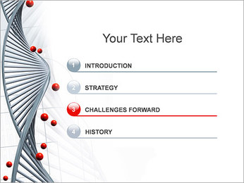 Génétique Modèles des présentations  PowerPoint - Diapositives 3