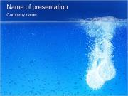 発泡性の錠剤 PowerPointプレゼンテーションのテンプレート