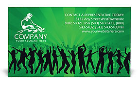 Night Club Business Card Templates