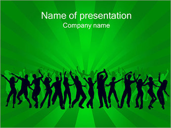Night Club Plantillas de Presentaciones PowerPoint