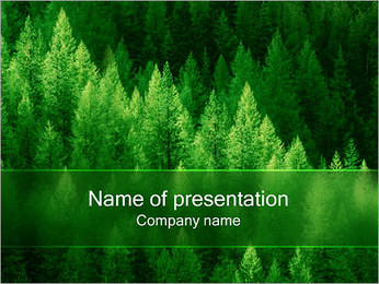 Forest PowerPoint presentationsmallar