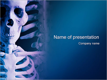 Skeleton powerpoint template backgrounds id 0000000306 skeleton powerpoint templates pronofoot35fo Images