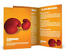 Boxing Gloves Brochure Template
