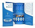 Round Dance Brochure Templates