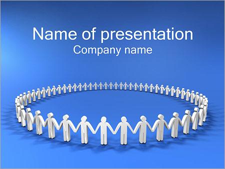 Danza Redonda Plantillas de Presentaciones PowerPoint