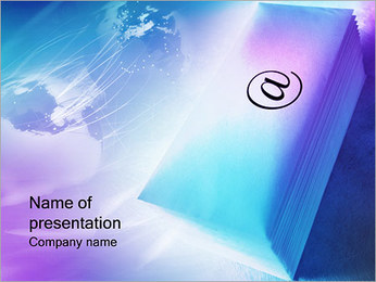 Internet Connection PowerPoint Template
