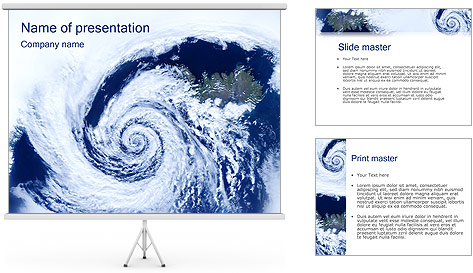 Cyclone PowerPoint Template