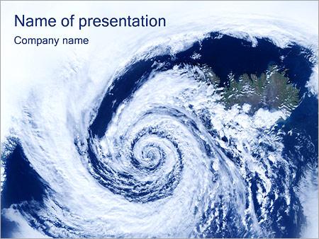 Cyclone Modèles des présentations  PowerPoint