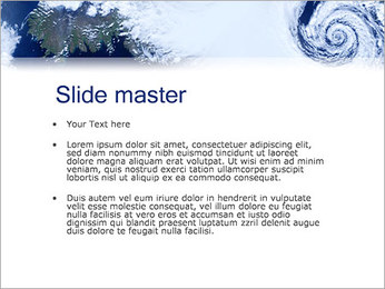 Cyclone PowerPoint Template - Slide 2