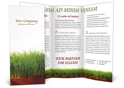Agronomy Brochure Template