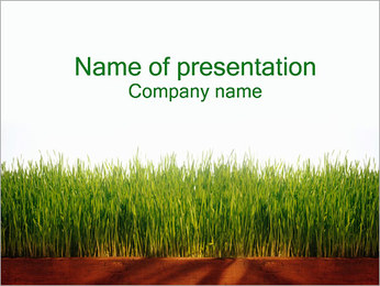 Agronomy PowerPoint Template