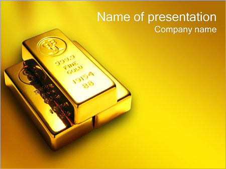Gold reserves powerpoint template backgrounds id 0000000327 gold reserves powerpoint templates toneelgroepblik Choice Image