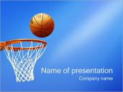 Basketball PowerPoint šablony