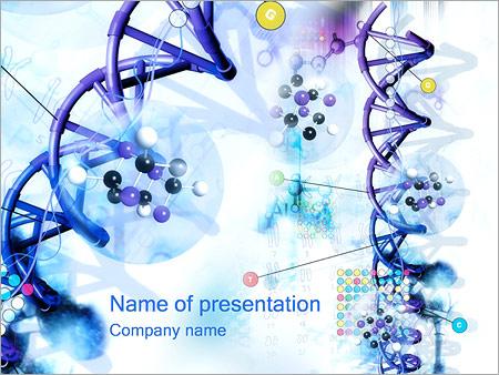 Гены ДНК Шаблоны презентаций PowerPoint