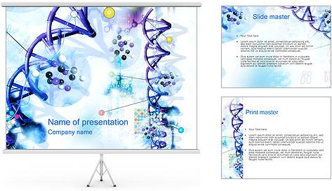 Les gènes de l'ADN Modèles des présentations  PowerPoint