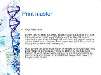 Les gènes de l'ADN Modèles des présentations  PowerPoint - Diapositives 24