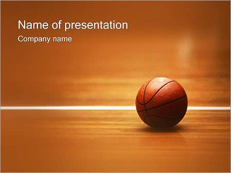 basketball nba powerpoint template & backgrounds id 0000000333, Modern powerpoint